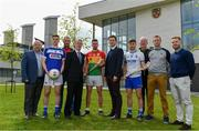 2 May 2019; In attendance during the Launch of Carlow IT and GPA Memorandum of Understanding at Carlow IT in Carlow are, from left, David Denieffe, Vice President for Academic Affairs and Registrar, IT Carlow, Eoin Buggie of Laois, Alan Nolan, Tutor, IT Carlow, Chris Nolan of Carlow, Cormac O'Toole, Vice-President for Corporate Affairs and Financial Controller, Carlow IT, Paul Flynn, GPA CEO, Colin Dunford of Waterford, Michael Dempsey, Programme Leader, IT Carlow, Emmett Egan, Tutor, IT Carlow, and Noel Connors, National Education Officer, GPA. Photo by Sam Barnes/Sportsfile