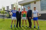 2 May 2019; In attendance during the Launch of Carlow IT and GPA Memorandum of Understanding at Carlow IT in Carlow are, from left,  Eoin Buggie of Laois,  Cormac O'Toole, Vice-President for Corporate Affairs and Financial Controller, Carlow IT, Chris Nolan of Carlow, Paul Flynn, GPA CEO and Colin Dunford of Waterford. Photo by Sam Barnes/Sportsfile