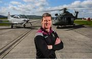 3 May 2019; Westmeath manager Jack Cooney poses for a portrait during the launch of the Leinster GAA Senior Championships at the Casement Aerodrome in Baldonnel, Dublin. Photo by David Fitzgerald/Sportsfile