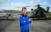 3 May 2019; Laois manager John Sugrue poses for a portrait during the launch of the Leinster GAA Senior Championships at the Casement Aerodrome in Baldonnel, Dublin. Photo by David Fitzgerald/Sportsfile