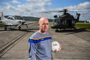 3 May 2019; Longford manager Padraic Davis poses for a portrait during the launch of the Leinster GAA Senior Championships at the Casement Aerodrome in Baldonnel, Dublin. Photo by David Fitzgerald/Sportsfile
