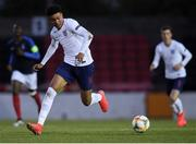 3 May 2019; Morgan Rogers of England during the 2019 UEFA European Under-17 Championships Group B match between England and France at City Calling Stadium in Longford. Photo by Eóin Noonan/Sportsfile
