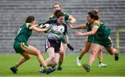 4 May 2019; Emma Kevany of Sligo in action against Niamh Gallogly and Shauna Ennis of Meath during the Lidl Ladies NFL Division 3 Final between Meath and Sligo at St Tiernach's Park, Clones in Monaghan. Photo by Oliver McVeigh/Sportsfile