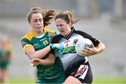 4 May 2019; Jacqui Mulligan of Sligo in action against Emma Duggan of Meath during the Lidl Ladies NFL Division 3 Final between Meath and Sligo at St Tiernach's Park, Clones in Monaghan. Photo by Matt Browne/Sportsfile