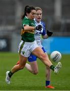5 May 2019; Sarah Houlihan of Kerry in action against Emma Murray of Waterford during the Lidl Ladies National Football League Division 2 Final match between Kerry and Waterford at Parnell Park in Dublin. Photo by Brendan Moran/Sportsfile