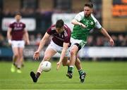 5 May 2019; Johnny Heaney of Galway in action against David Carrabine of London during the Connacht GAA Football Senior Championship Quarter-Final match between London and Galway at McGovern Park in Ruislip, London, England. Photo by Harry Murphy/Sportsfile