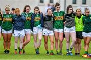 5 May 2019; Dejected Kerry players after the Lidl Ladies National Football League Division 2 Final match between Kerry and Waterford at Parnell Park in Dublin. Photo by Brendan Moran/Sportsfile