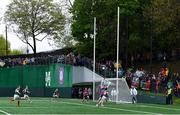 5 May 2019; Fergal Boland of Mayo scores a late second half point during the Connacht GAA Football Senior Championship Quarter-Final match between New York and Mayo at Gaelic Park in New York, USA. Photo by Piaras Ó Mídheach/Sportsfile
