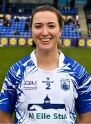 5 May 2019; Karen McGrath of Waterford before the Lidl Ladies National Football League Division 2 Final match between Kerry and Waterford at Parnell Park in Dublin. Photo by Ray McManus/Sportsfile