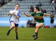 5 May 2019; Kelly Ann Hogan of Waterford in action against Sophie lynch of Kerry during the Lidl Ladies National Football League Division 2 Final match between Kerry and Waterford at Parnell Park in Dublin. Photo by Ray McManus/Sportsfile