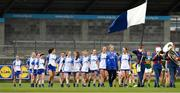 5 May 2019; Waterford players before the Lidl Ladies National Football League Division 2 Final match between Kerry and Waterford at Parnell Park in Dublin. Photo by Ray McManus/Sportsfile