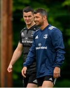 6 May 2019; Jonathan Sexton, left, and Rob Kearney during Leinster Rugby squad training at Rosemount in UCD, Dublin. Photo by Ramsey Cardy/Sportsfile