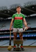9 May 2019; Cathal Freeman of Mayo who will compete in the Nicky Rackard Cup in attendance at the official launch of Joe McDonagh, Christy Ring, Nicky Rackard and Lory Meagher Competitions at Croke Park in Dublin. Photo by Stephen McCarthy/Sportsfile