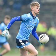 8 May 2019; Luke Murphy-Guinane of Dublin during the Electric Ireland Leinster GAA Football Minor Championship Round 2 match between Wexford and Dublin at Bellefield in Wexford. Photo by Matt Browne/Sportsfile