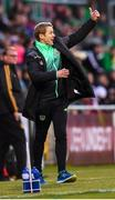 9 May 2019; Republic of Ireland head coach Colin O'Brien during the 2019 UEFA European Under-17 Championships Group A match between Belgium and Republic of Ireland at Tallaght Stadium in Dublin. Photo by Stephen McCarthy/Sportsfile