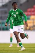 9 May 2019; Roland Idowu of Republic of Ireland during the 2019 UEFA European Under-17 Championships Group A match between Belgium and Republic of Ireland at Tallaght Stadium in Dublin. Photo by Stephen McCarthy/Sportsfile