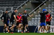 10 May 2019; Jack Conan, centre, during the Leinster team captain's run at St James' Park in Newcastle Upon Tyne, England. Photo by Ramsey Cardy/Sportsfile