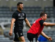 10 May 2019; Robbie Henshaw during the Leinster team captain's run at St James' Park in Newcastle Upon Tyne, England. Photo by Ramsey Cardy/Sportsfile