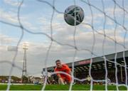 10 May 2019; Bohemians goalkeeper James Talbot after conceeding a Dundalk goal from Georgie Kelly during the SSE Airtricity League Premier Division match between Bohemians and Dundalk at Dalymount Park in Dublin. Photo by Stephen McCarthy/Sportsfile
