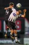 10 May 2019; Georgie Kelly of Dundalk in action against Conor Levingston of Bohemians during the SSE Airtricity League Premier Division match between Bohemians and Dundalk at Dalymount Park in Dublin. Photo by Stephen McCarthy/Sportsfile
