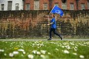 11 May 2019; Leinster supporter Zoey McGovern from Leixlip, Co. Kildare prior to the Heineken Champions Cup Final match between Leinster and Saracens at St James' Park in Newcastle Upon Tyne, England. Photo by David Fitzgerald/Sportsfile