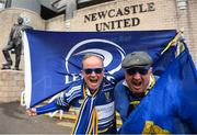 11 May 2019; Leinster Supporters, Trevor Garrett from Kilkenny, right, and Justin Stacey from Drumcondra, Dublin prior to the Heineken Champions Cup Final match between Leinster and Saracens at St James' Park in Newcastle Upon Tyne, England. Photo by David Fitzgerald/Sportsfile