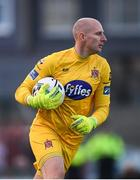 10 May 2019; Gary Rogers of Dundalk during the SSE Airtricity League Premier Division match between Bohemians and Dundalk at Dalymount Park in Dublin. Photo by Stephen McCarthy/Sportsfile