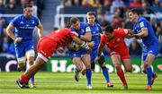11 May 2019; Seán Cronin of Leinster is tackled by Billy Vunipola of Saracens during the Heineken Champions Cup Final match between Leinster and Saracens at St James' Park in Newcastle Upon Tyne, England. Photo by Brendan Moran/Sportsfile