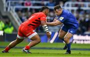 11 May 2019; Cian Healy of Leinster is tackled by Billy Vunipola of Saracens during the Heineken Champions Cup Final match between Leinster and Saracens at St James' Park in Newcastle Upon Tyne, England. Photo by Brendan Moran/Sportsfile