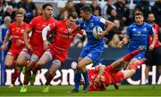 11 May 2019; Rob Kearney of Leinster is tackled by Ben Spencer of Saracens during the Heineken Champions Cup Final match between Leinster and Saracens at St James' Park in Newcastle Upon Tyne, England. Photo by Brendan Moran/Sportsfile