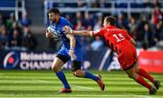 11 May 2019; Robbie Henshaw of Leinster is tackled by Alex Goode of Saracens during the Heineken Champions Cup Final match between Leinster and Saracens at St James' Park in Newcastle Upon Tyne, England. Photo by Brendan Moran/Sportsfile