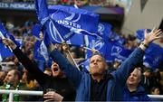 11 May 2019; Leinster supporters celebrate their side's first try scored by Tadhg Furlong during the Heineken Champions Cup Final match between Leinster and Saracens at St James' Park in Newcastle Upon Tyne, England. Photo by David Fitzgerald/Sportsfile
