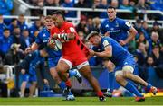 11 May 2019; Billy Vunipola of Saracens is tackled by Jack Conan of Leinster during the Heineken Champions Cup Final match between Leinster and Saracens at St James' Park in Newcastle Upon Tyne, England. Photo by Brendan Moran/Sportsfile