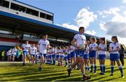 11 May 2019; Shane Ryan of Waterford leads out his team ahead of the Munster GAA Football Senior Championship quarter-final match between Clare v Waterford at Cusack Park in Ennis, Clare. Photo by Sam Barnes/Sportsfile
