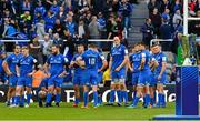 11 May 2019; Dejected Leinster players look on as the trophy awaits to be presented to Saracens following the Heineken Champions Cup Final match between Leinster and Saracens at St James' Park in Newcastle Upon Tyne, England. Photo by Brendan Moran/Sportsfile