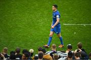 11 May 2019; Jonathan Sexton of Leinster following the Heineken Champions Cup Final match between Leinster and Saracens at St James' Park in Newcastle Upon Tyne, England. Photo by David Fitzgerald/Sportsfile