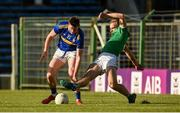 11 May 2019; Conor Sweeney of Tipperary in action against Sean O'Dea of Limerick during the Munster GAA Football Senior Championship quarter-final match between Tipperary and Limerick at Semple Stadium in Thurles, Co. Tipperary. Photo by Diarmuid Greene/Sportsfile