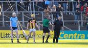 11 May 2019; Referee Cathal McAllister issues Dublin selector Greg Kennedy from the pitch during Leinster GAA Hurling Senior Championship Round 1 match between Kilkenny and Dublin at Nowlan Park in Kilkenny. Photo by Stephen McCarthy/Sportsfile