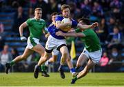 11 May 2019; Brian Fox of Tipperary in action against Colm McSweeney of Limerick during the Munster GAA Football Senior Championship quarter-final match between Tipperary and Limerick at Semple Stadium in Thurles, Co. Tipperary. Photo by Diarmuid Greene/Sportsfile