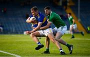 11 May 2019; Paul Maher of Tipperary in action against Brian Fanning of Limerick during the Munster GAA Football Senior Championship quarter-final match between Tipperary and Limerick at Semple Stadium in Thurles, Co. Tipperary. Photo by Diarmuid Greene/Sportsfile