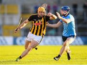 11 May 2019; Colin Fennelly of Kilkenny in action against Seán Moran of Dublin during the Leinster GAA Hurling Senior Championship Round 1 match between Kilkenny and Dublin at Nowlan Park in Kilkenny. Photo by Stephen McCarthy/Sportsfile