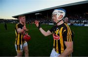 11 May 2019; TJ Reid, right, and Adrian Mullen of Kilkenny following the Leinster GAA Hurling Senior Championship Round 1 match between Kilkenny and Dublin at Nowlan Park in Kilkenny. Photo by Stephen McCarthy/Sportsfile