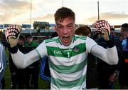 11 May 2019; Limerick goalkeeper Donal O'Sullivan celebrates after the Munster GAA Football Senior Championship quarter-final match between Tipperary and Limerick at Semple Stadium in Thurles, Co. Tipperary. Photo by Diarmuid Greene/Sportsfile