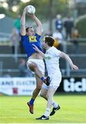 11 May 2019; Anthony McLoughlin of Wicklow in action against Eoghan O'Flaherty of  Kildare during Leinster GAA Football Senior Championship Round 1 match between Wicklow and Kildare at Netwatch Cullen Park in Carlow. Photo by Matt Browne/Sportsfile