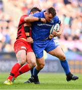 11 May 2019; Cian Healy of Leinster is tackled by Brad Barritt of Saracens during the Heineken Champions Cup Final match between Leinster and Saracens at St James' Park in Newcastle Upon Tyne, England. Photo by Ramsey Cardy/Sportsfile