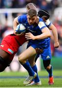 11 May 2019; Garry Ringrose of Leinster is tackled by Maro Itoje of Saracens during the Heineken Champions Cup Final match between Leinster and Saracens at St James' Park in Newcastle Upon Tyne, England. Photo by Ramsey Cardy/Sportsfile