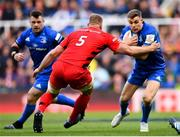 11 May 2019; Garry Ringrose of Leinster is tackled by George Kruis of Saracens during the Heineken Champions Cup Final match between Leinster and Saracens at St James' Park in Newcastle Upon Tyne, England. Photo by Ramsey Cardy/Sportsfile