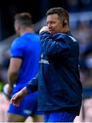 11 May 2019; Leinster scrum coach John Fogarty during the Heineken Champions Cup Final match between Leinster and Saracens at St James' Park in Newcastle Upon Tyne, England. Photo by Ramsey Cardy/Sportsfile