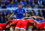 11 May 2019; Luke McGrath of Leinster during the Heineken Champions Cup Final match between Leinster and Saracens at St James' Park in Newcastle Upon Tyne, England. Photo by Ramsey Cardy/Sportsfile