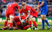 11 May 2019; Ben Spencer of Saracens during the Heineken Champions Cup Final match between Leinster and Saracens at St James' Park in Newcastle Upon Tyne, England. Photo by Ramsey Cardy/Sportsfile